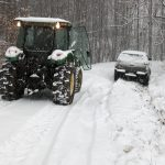 Road Conditions Slowly Improving Across The Area : VSP Urges Caution