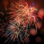 Happy New Year 2019! : Fireworks Pics From Wintergreen Resort