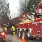 Nelson : Traffic Alert : Overturned Turkey Truck Blocked Route 6 : Updated 1.29.19 (VSP Driver Info & Charges)
