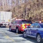 Nelson : Roseland - Early Thursday Semi Truck Accident Slowed Traffic Just North Of Brents Gap (Video)