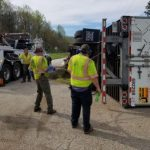 Nelson : Another Semi Accident Closes Parts Of US 29 Southbound Near Lovingston  - Video (Road All Clear 11:45 AM)