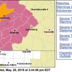 CANCELLED : Severe Thunderstorm Watch : Counties South Of Nelson Until 8PM This Evening : CANCELLED