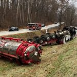 NELSON : Another Sunday Morning Large Truck Accident : US 29 North Of Lovingston