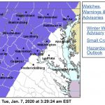 Winter Weather Advisory Expanded For Many Areas On Tuesday : EXPIRED