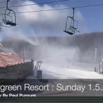 Snowmaking Resumes At Wintergreen Resort