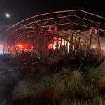 Nelson : Woods Mill : Fire Misses Wood Ridge Farm Brewery : Destroys Greenhouses