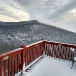 Nelson : Wintergreen : Legit Mid-April Snow Hits The Mountains