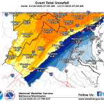 Winter Storm Watch Begins For Most Of Area - EXPIRED