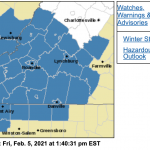 WINTER STORM WATCH : Late Saturday Night Into Sunday Morning Canceled / Expired