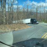 Near Wintergreen : Another 18 Wheeler Blocks Reeds Gap